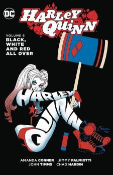 HARLEY QUINN TP VOL 06 BLACK WHITE & RED ALL OVER