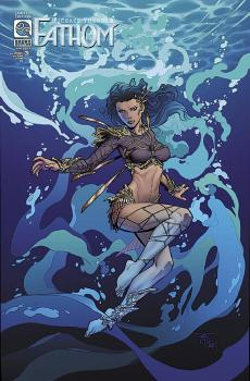 ALL NEW FATHOM #3 RANDY GREEN VARIANT COVER (R/I COVER)