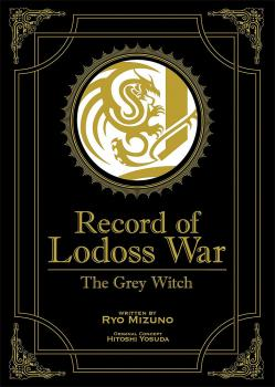 Record of Lodoss War: The Grey Witch (Gold Edition) Novel HC