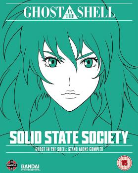 Ghost In The Shell SAC - Solid State Society Blu-ray UK