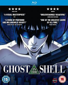 Ghost In The Shell Movie Blu-ray UK