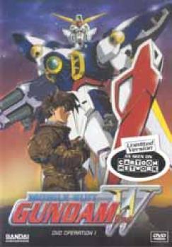 Gundam wing operation 01 Shooting stars DVD