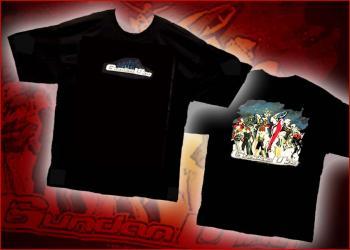 Gundam Wing Group shot T-shirt XL