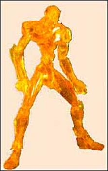 Neon genesis evangelion EVA unit 00 Yellow transparant figure