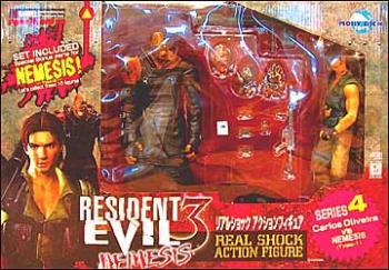 Resident evil 3 Carlos Oliviera and Nemesis figure 2-pack