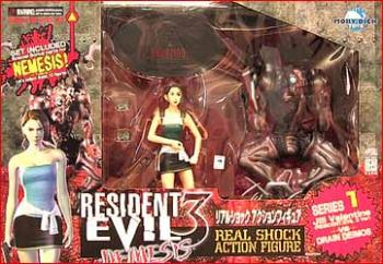Resident evil 3 Jill Valentine (Biohazard 3 version) and Drain Deimos figure 2-pack