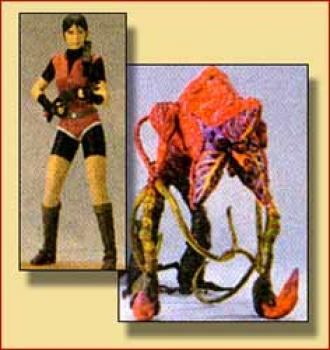 Resident evil 3 Claire Redfield and Ivy figure 2-pack