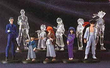 Rurouni Kenshin PVC figures
