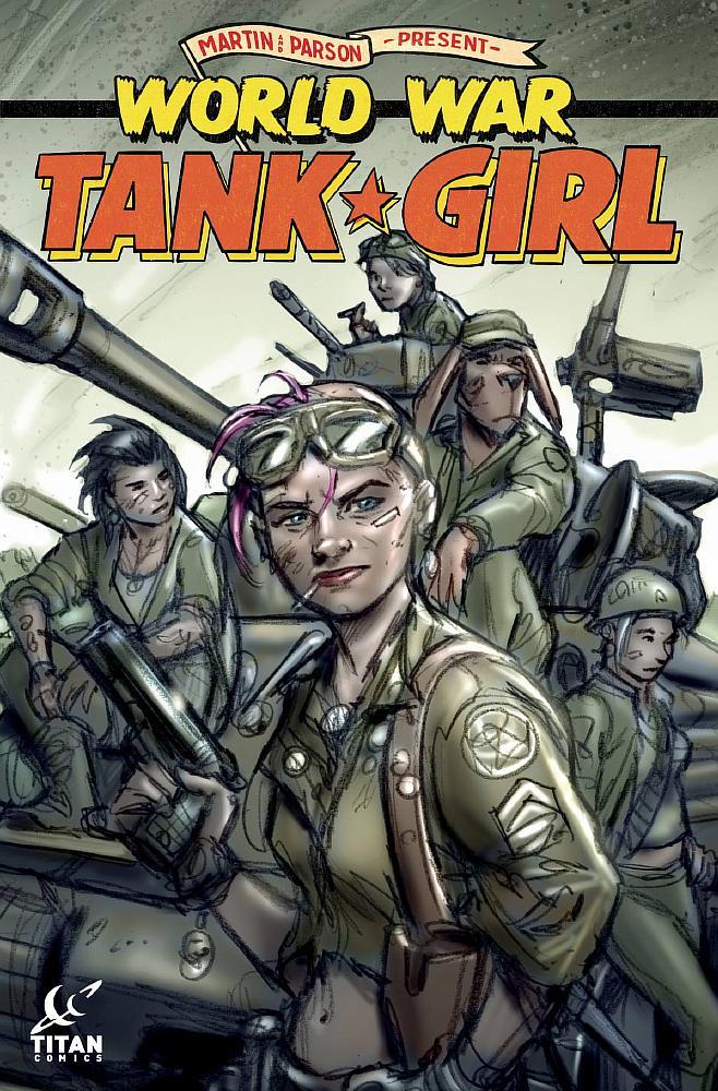 TANK GIRL #4 CVR A PARSON TITAN COMICS