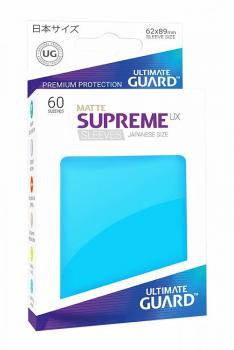Ultimate Guard Supreme UX Sleeves Japanese Size Matte Light Blue (60)