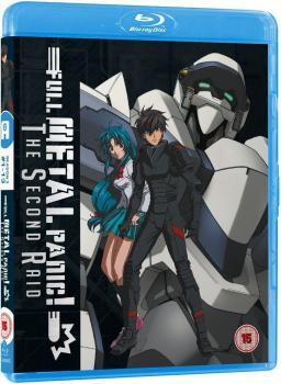 Full Metal Panic Season 02 Second Raid Blu-Ray UK