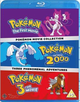 Pokemon Movie Collection Blu-Ray UK