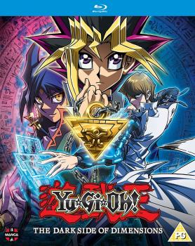 Yu-Gi-Oh! The Movie Dark Side of Dimensions Blu-Ray UK