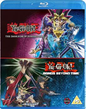 Yu-Gi-Oh! Movie Double Pack Bonds Beyond Time & Dark Side of Dimensions Blu-Ray UK
