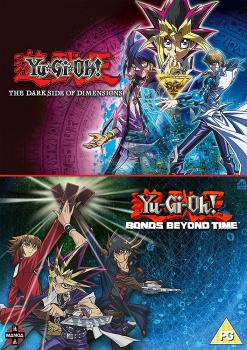Yu-Gi-Oh! Movie Double Pack Bonds Beyond Time & Dark Side of Dimensions DVD UK