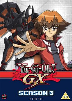 Yu-Gi-Oh! GX Season 03 (Episodes 105-155) DVD UK