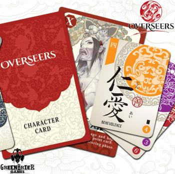 Overseers Card Game - English