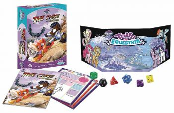 My Little Pony Tails Of Equestria RPG Adventure Story Box Set - The Curse of the Statuettes