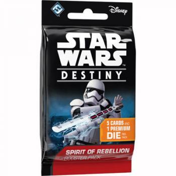 Star Wars Destiny Card Game - Spirit of Rebellion Booster Pack