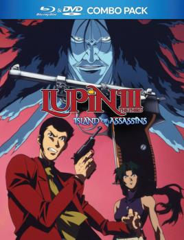 Lupin the 3rd Island of Assassins Blu-Ray/DVD