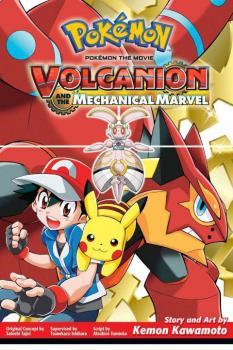 Pokemon Volcanion and the Mechanical Marvel GN Manga