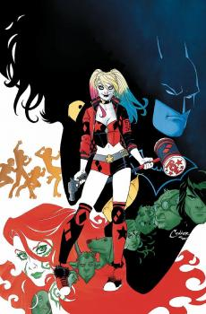 HARLEY QUINN REBIRTH DELUXE COLLECTION HC BOOK 01