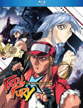 Fatal Fury The Movie Blu-ray
