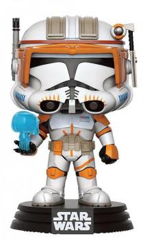 buy pop vinyl figures - star wars pop vinyl figure - clone commander cody limited edition