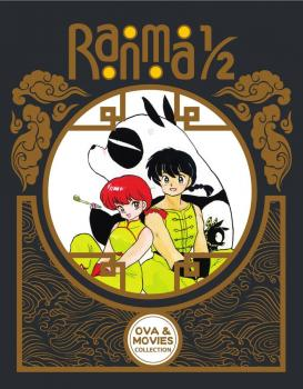 Ranma 1/2 OVA And Movie Collection Limited Edition Blu-Ray