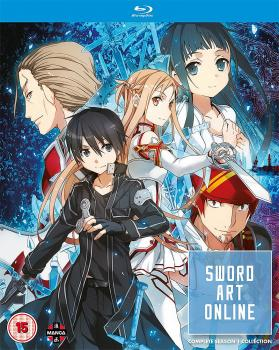 Sword art online Season 01 Collection Blu-Ray UK