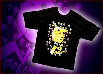Pikachu out front T-shirt L