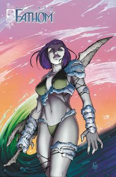 ALL NEW FATHOM #8 MARCO RENNA VARIANT COVER