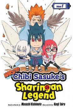 Naruto Chibi Sasuke's Sharingan Legend vol 01 GN Manga