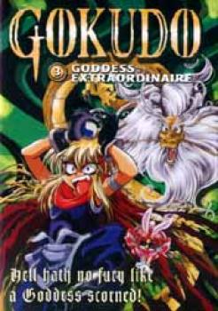 Gokudo vol 3 Goddess extraordinaire DVD