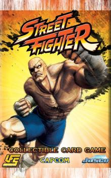 Street Fighter UFS CCG Booster Pack - English