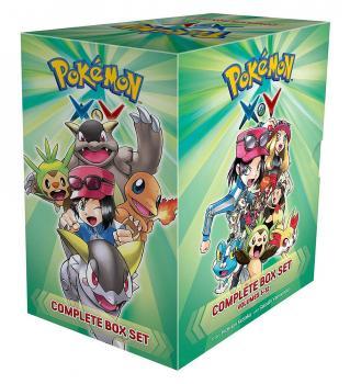 Pokemon XY Complete Box Set vol. 1-12 GN Manga