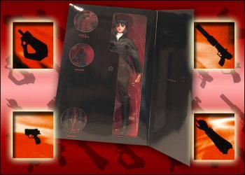 Ghost in the shell 12-inch dolls Black fatigue