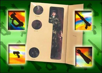 Ghost in the shell 12-inch dolls Urban camo