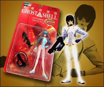 Ghost in the shell Action figure White out exclusive