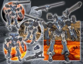 Armored core 2 Action figure Mecha 2