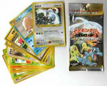 Pokemon Japanese booster Neo