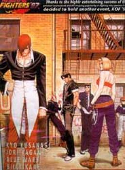 ST-B 83 King of fighters Bambooscroll