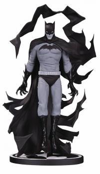 BATMAN BLACK & WHITE STATUE BY BECKY CLOONAN
