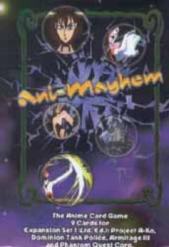 Animayhem limited edition Expansion set 1 booster