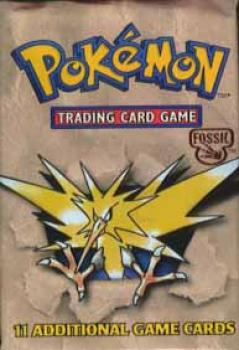 Pokemon Fossil booster