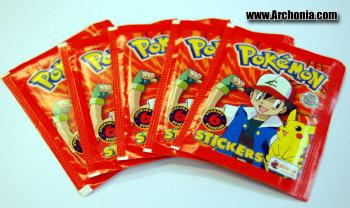 Pokemon Topps stickers series