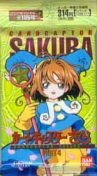 Cardcaptor Sakura carddass master part 4 cards