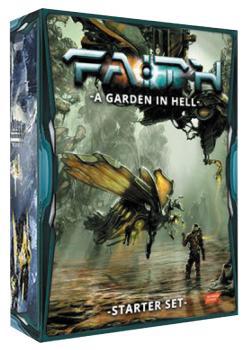 Faith RPG A Garden in Hell Card Game - English