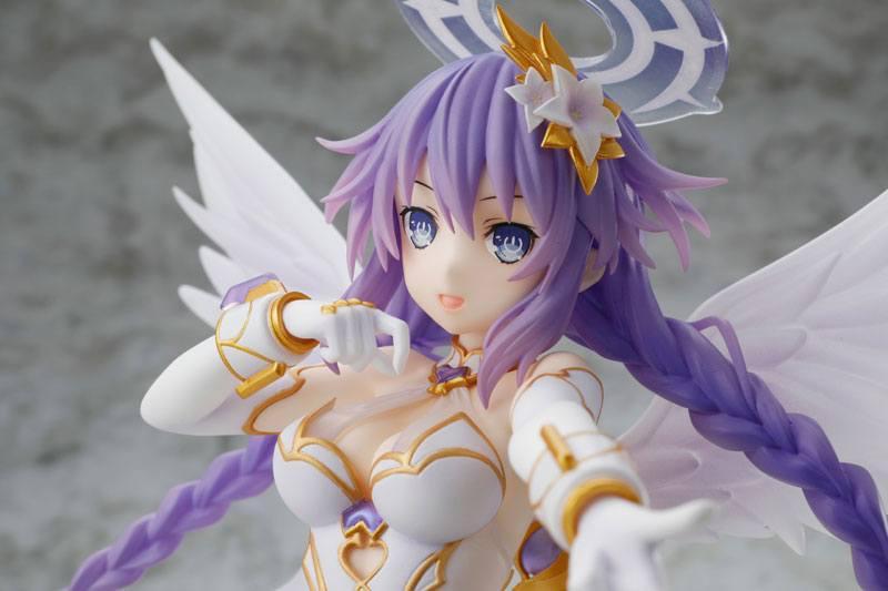 Cyberdimension Neptune 4 Four Goddesses Online Purple Heart 1//7PVC Figure