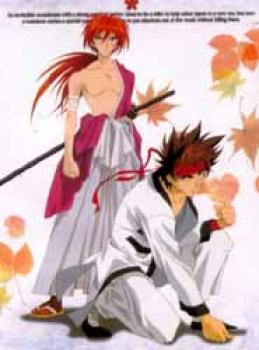 Rurouni Kenshin wallscroll CL371